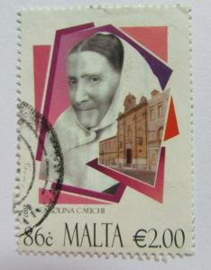 2007 Malta  SC #1326  CAROLINA CAUCHI  Used stamp