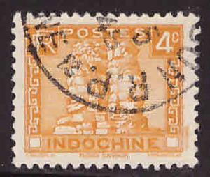 French Indo-China Scott 153A Used Angkor Thom stamp