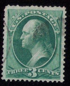 US Scott #158 Used Centering VF