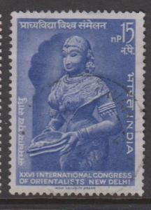 India Sc#381 Used