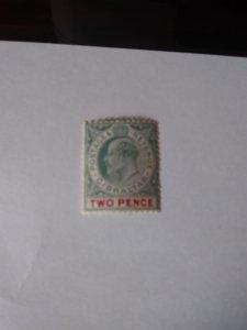 King Edward Gibraltar stamp Scott # 52