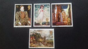 Great Britain 1968 Paintings Mint