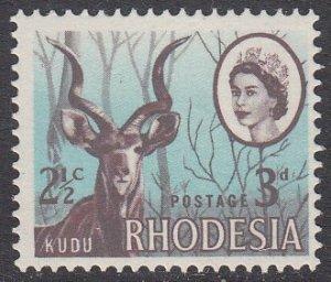 Rhodesia 245 MNH CV $0.75