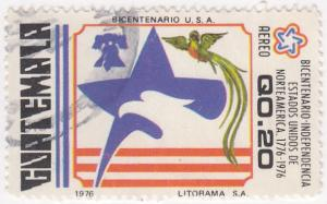 Guatemala, Scott # C599, Used