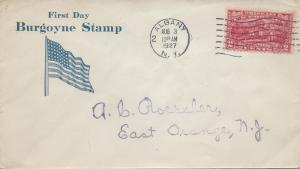 U.S., Scott #644 First Day Cover, Roessler Cachet, Albany, N.Y., Aug. 3, 1927