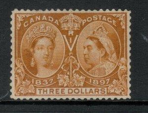 Canada #63 Very Fine Mint Original Lightly Disturbed Gum Hinged