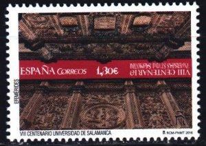Spain. 2016. 5116. 800 years to the University of Salamanca. MNH.
