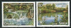 1626 - SERBIA 2021 - European Nature Protection - MNH Set