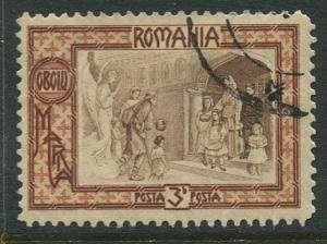 Romania -Scott B17- Semi Postal - 1907 - FU - Single 3b + 7b Stamp