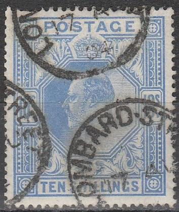 Great Britain #141  F-VF Used  CV $525.00 (A16725)