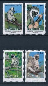 [39972] Namibia 2004 Wild Animals Mammals Monkeys MNH