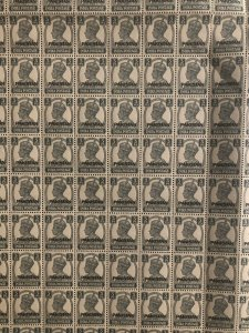 PAKISTAN 1947 KGVI OVERPRINT 3PS FULL SHEET OF 320 STAMPS (MNH) HIGH C.V