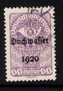 Austria 1921  Scott #B38 used