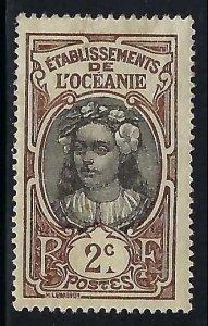 French Polynesia 22 MOG R9-201-1