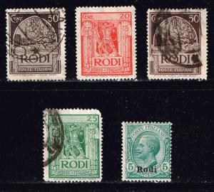 ITALY STAMPS COLLECTION LOT #T1  LODI
