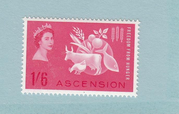Ascension 89 MNH