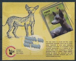 [27456] Peru 2009 Animals Dogs MNH Sheet