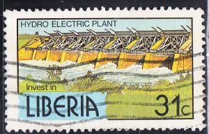 Liberia #950   Used