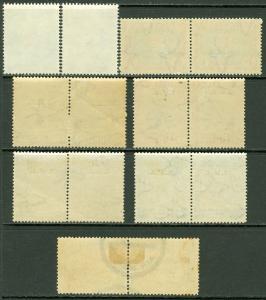EDW1949SELL : SOUTH WEST AFRICA 1938-63 Sc #295-26, B10 VFMNH, B1-4 MOG C5 Used