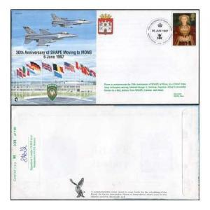 JS(CC)30a 30th Anniv of Shape Moving to MONS Standard Cover
