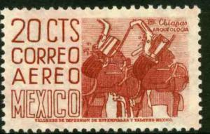 MEXICO C220, 20cents 1950 Definitive 2nd Printing wmk 300. MINT, NH. F-VF.