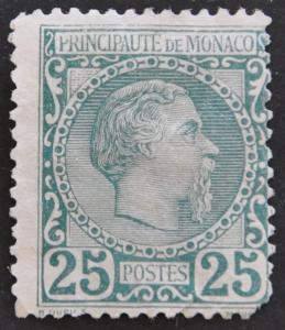 DYNAMITE Stamps: Monaco Scott #6 (sm.tear) UNUSED