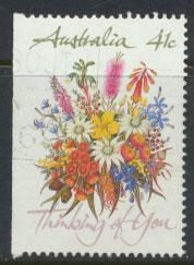 SG 1230b  SC# 1164a left margin imperf  Used  Wildflowers perf 14½