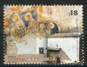 083 - MACEDONIA 2010 - Cultural Heritage - Icons - MNH Set