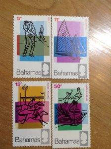 Bahamas  # 272-75  MNH