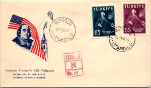 Turkey, Worldwide First Day Cover, Americana