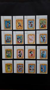 Disney - St. Vincent and the Grenadines 1994. - Characters ** MNH complete set