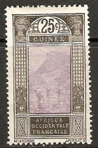 1922 French Guinea Scott 78 Ford at Kitim MNH