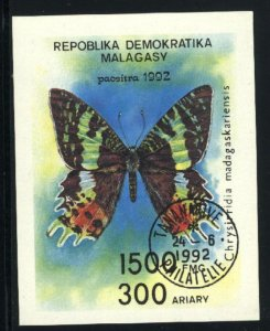 Malagasy Republic #1087  SS Butterfly  NH VF 1992 PD