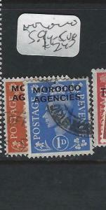 MOROCCO AGENCIES  (P0303B)  KGVI  SG 94-5   VFU