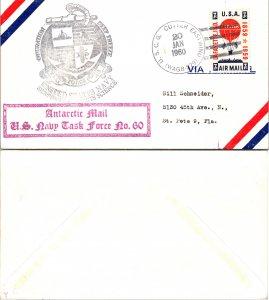 1960 US CUTTER EASTWIND + CACHETS, 1960, Polar
