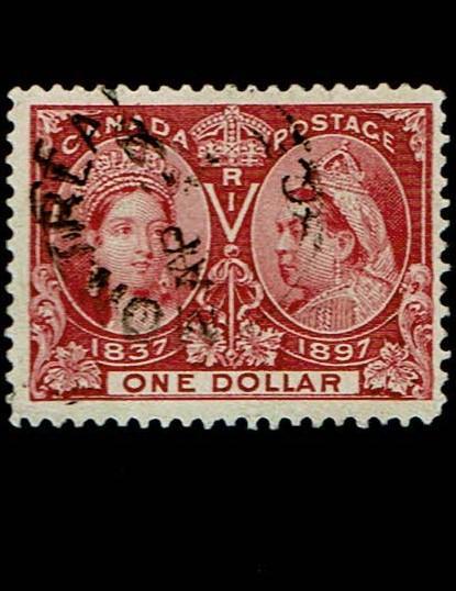 Canada #61 VF-used. SCV - $700.00
