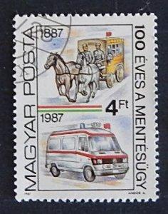 Car Ambulance, Hungary, (1308-T)