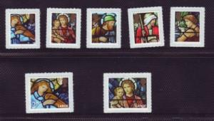 Great Britain Sc 2717-23 2009 Christmas stamp set mint NH