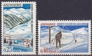 Andorra (Fr) #169-70 MNH CV $4.00 (Z9627)