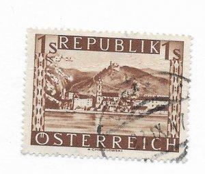 Austria #496 Used - Stamp CAT VALUE $4.00
