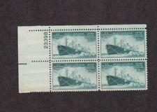 SCOTT # 939 PLATE BLOCK MINT NEVER HINGED GREAT LOOKING GEM  !!