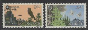 NORWAY SG979/80 1986 EUROPA MNH