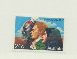 Australia Stamp Scott #820, Australia Day Issue From 1982