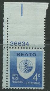 STAMP STATION PERTH USA #1151  MLH OG 1960  CV$0.25.
