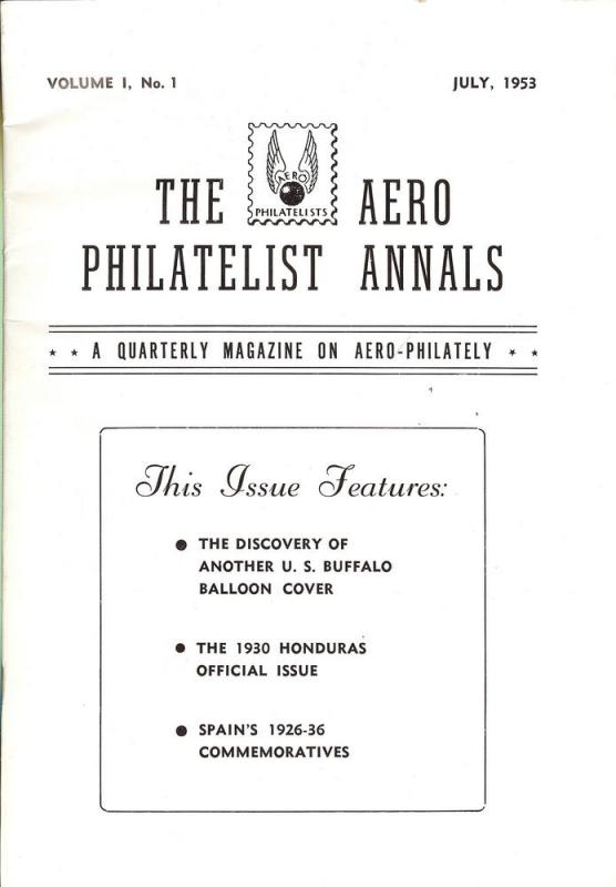 The Aero Philatelist Annals: A quarterly magazine on Aero...