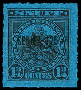 U.S. REV. TAXPAIDS-SNUFF TE1094a  Mint (ID # 63377)