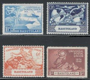 Basutoland 1949 UPU Omnibus Issue Scott # 41 - 44 MH