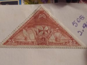 Spain 505  unused hr