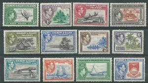 Gilbert Ellice   # 40-51 George VI Series 1937 (12) Mint NH