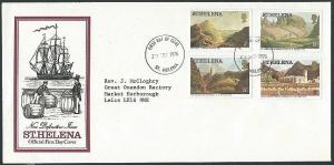 ST HELENA 1976 (28 Sept) Definitives FDC...................................44149